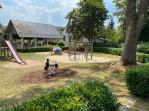 Bad Steben; Spielplatz; Park; Hofer Land; Frankenwald; Klettergerüst