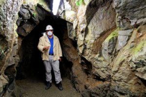Geologie, Basalt, Frankenwald; Bergwerk