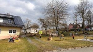Osterdorf Silberbach im Landkreis Hof