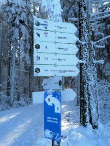 Döbraberg; Ski; Langlauf; Loipe; Frankenwald