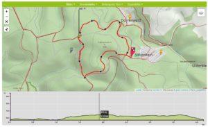 Der Kohlstatt-Weg DÖ 98 bei Geroldgsrün ist gut vier Kilometer lang. (Quelle: Tourenportal Frankenwald Tourismus)