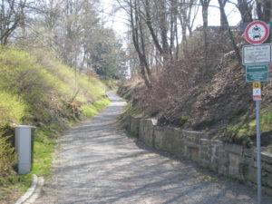 """Ein typischer Hohlweg ist der """"Kreuzberghohlweg"""" bei Münchberg. Er ist der Grund, weshalb sich hier um das Jahr 1000 ein erster Turmhügel nahe der Pulschnitz etablierte. (Bild: A. Roßner)"""