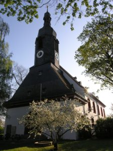 St. Lorenz bot als Wehrkirche Schutz in den rauen Zeiten des Mittelalters. Von hier aus wurde die Stadt Hof besiedelt. (Bildquelle: Bilderservice Stadt Hof)