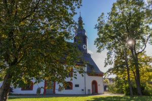 Die Lorenzkirche: Die Urkirche von Hof an der Saale. (Bildquelle: Bilderservice Stadt Hof, Fotograf Tom Neumann)
