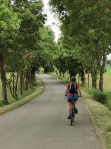 Fahrradtrour Frankenwald Allee