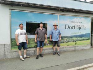Zufällig entdeckt: Das Dorfläjdla in Bobengrün.