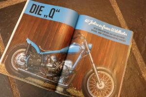 """Sechs Seiten widmete das """"Kustom Life Magazine"""" Mimi Schneiderbanger und seiner Q."""